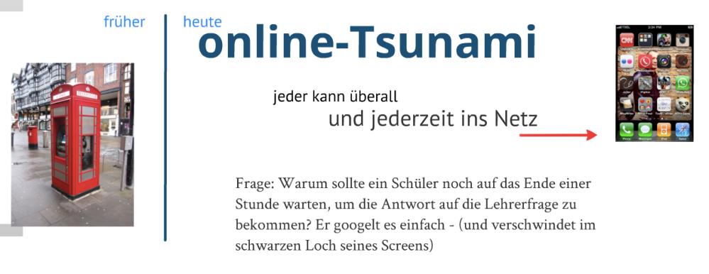 Mobiles Lernen2.0 - oder: Wann endet die deutsche Schule? (1/2)