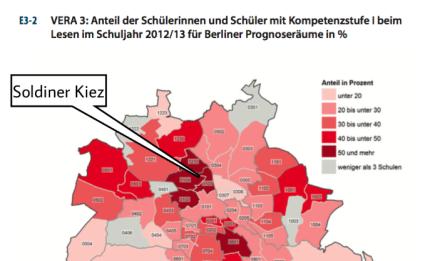 Berliner Bildungsbericht 2013, Lesekompetenzen