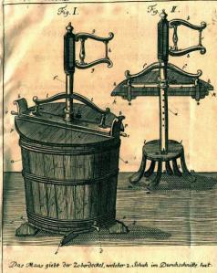Schäffers Waschmaschine von 1766