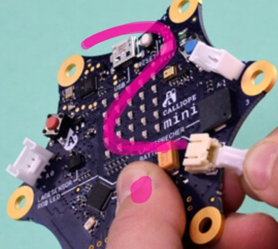 Calliope Mini: Platine zum Programmieren